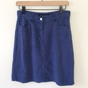 French Connection Denim colored Ramie Skirt